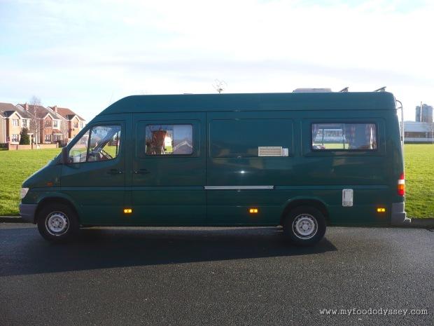 Our beautiful new camper van.
