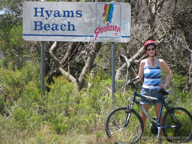 Some bike exploration. Hyam's Beach, Australia, Christmas 2009/10.