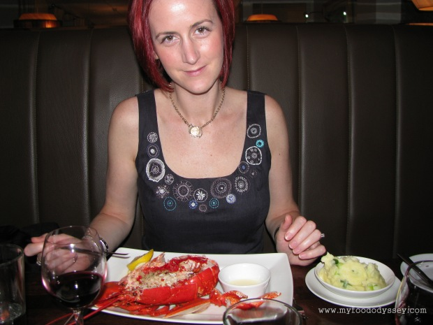 My first ever lobster. Kinsale, September 2010.