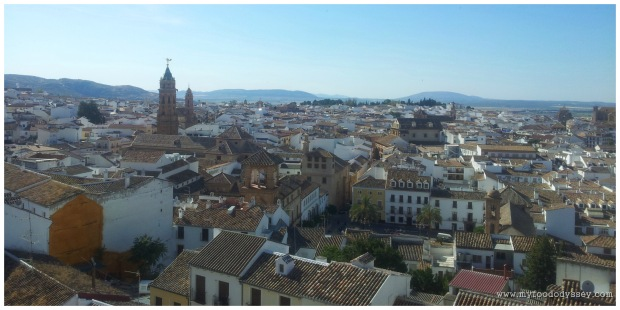 The stunningly beautiful town of Antequera.