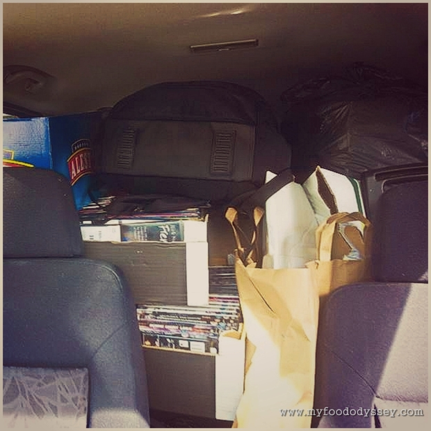 Packed Car | www.myfoododyssey.com