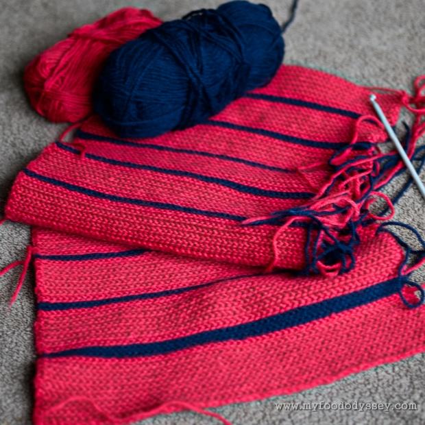 Crochet Scarf | www.myfoododyssey.com