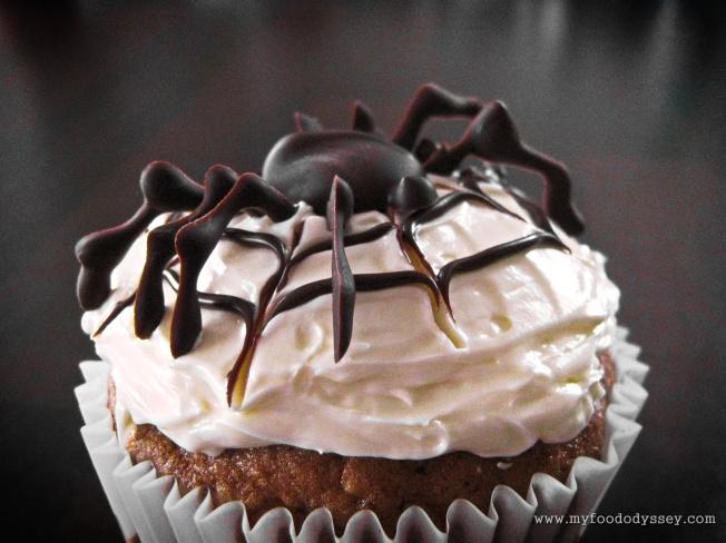 Pumpkin Cupcakes | www.myfoododyssey.com