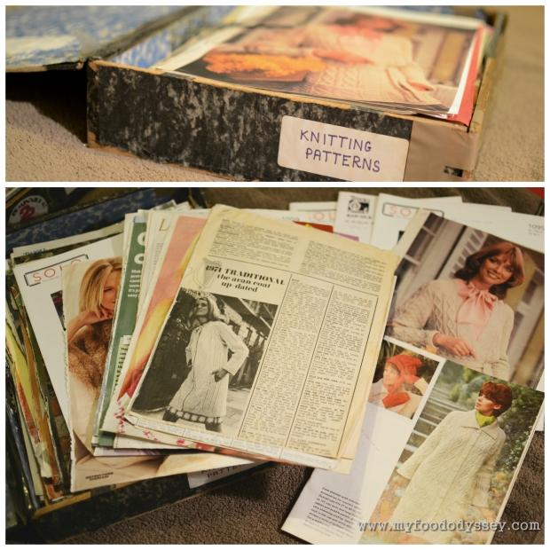 Vintage Knitting Patterns | www.myfoododyssey.com