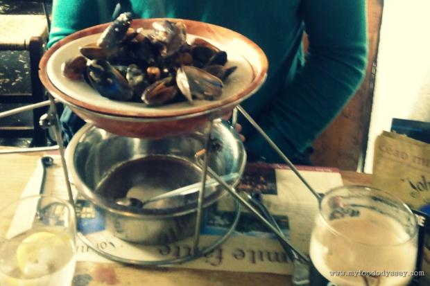 Mussels in Johnnie Fox's | www.myfoododyssey.com