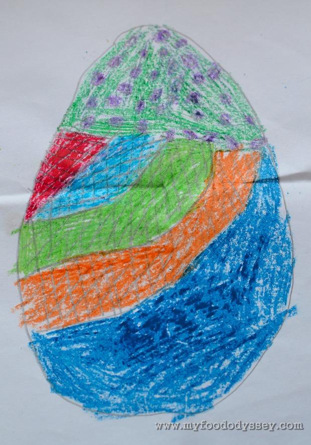 Easter Egg Art | www.myfoododyssey.com