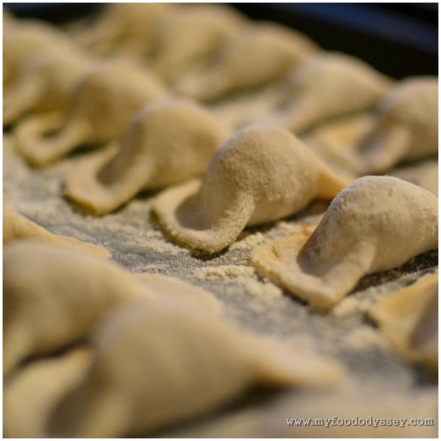 Lithuanian Koldunai (Dumplings) | www.myfoododyssey.com