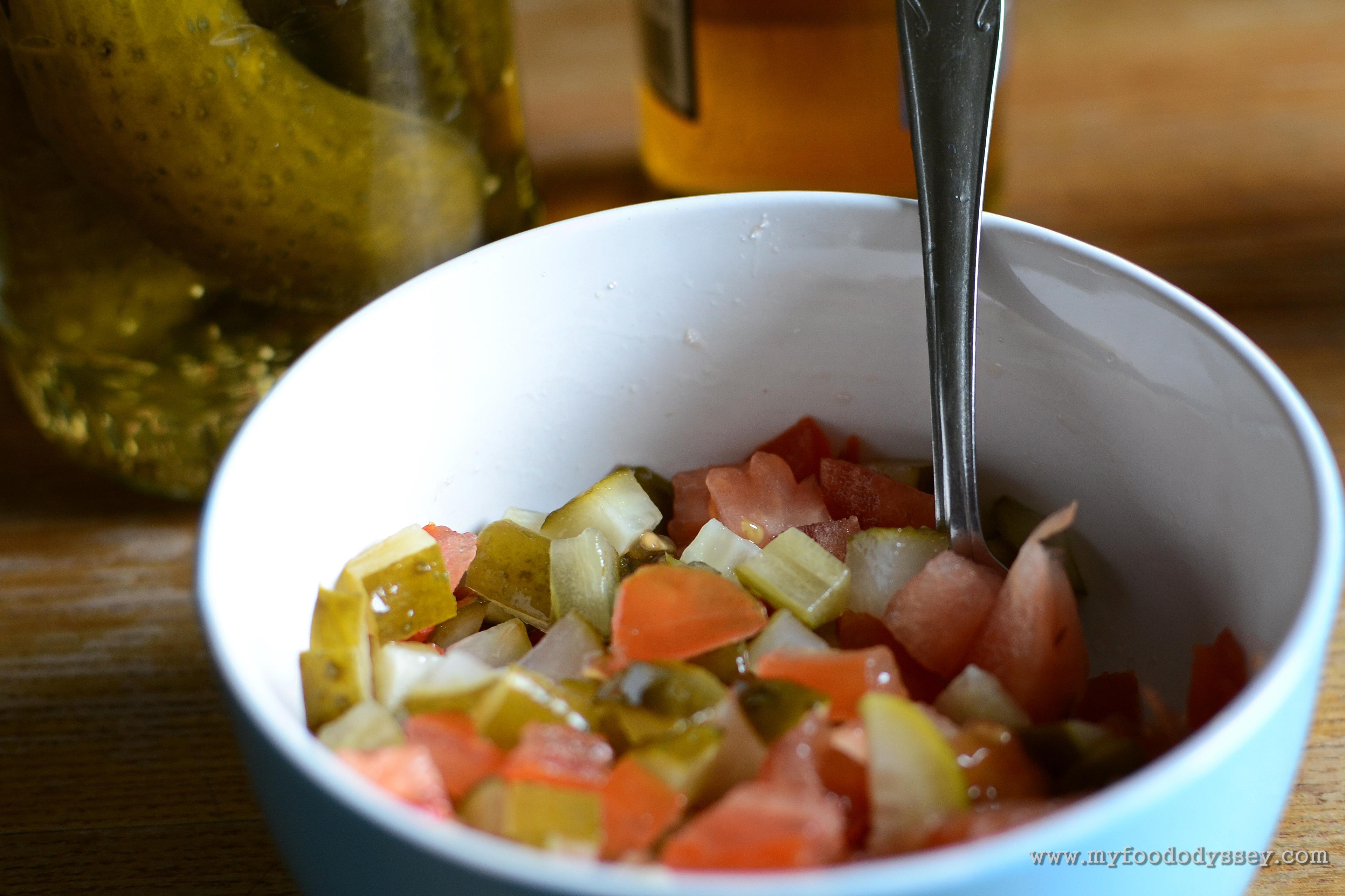 Homemade Fajita Salsa | www.myfoododyssey.com