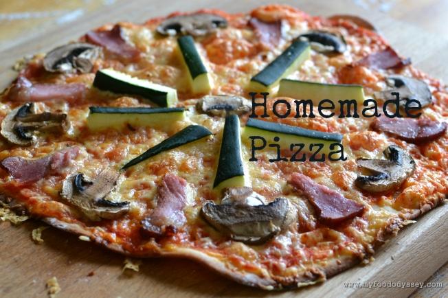 Homemade Pizza   www.myfoododyssey.com