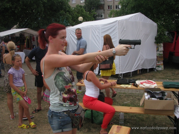 Pistol Shooting, Klaipėda Sea Festival | www.myfoododyssey.com