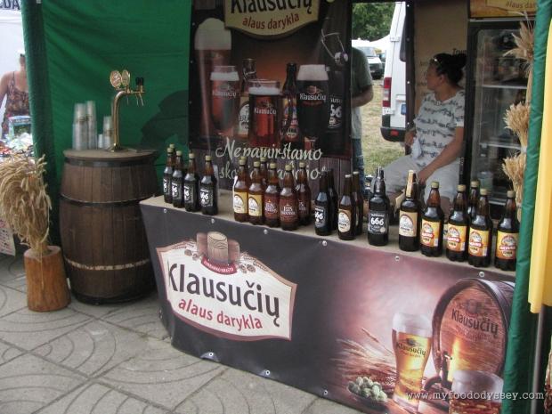 Beer Selection, Klaipėda Sea Festival   www.myfoododyssey.com