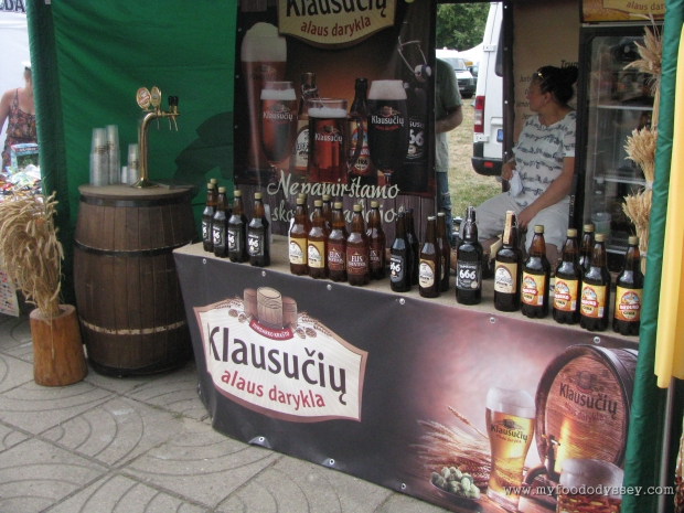 Beer Selection, Klaipėda Sea Festival | www.myfoododyssey.com