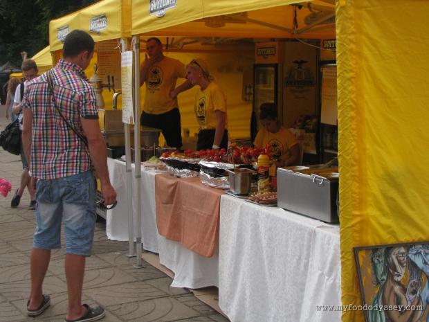 Food Cart, Klaipėda Sea Festival   www.myfoododyssey.com