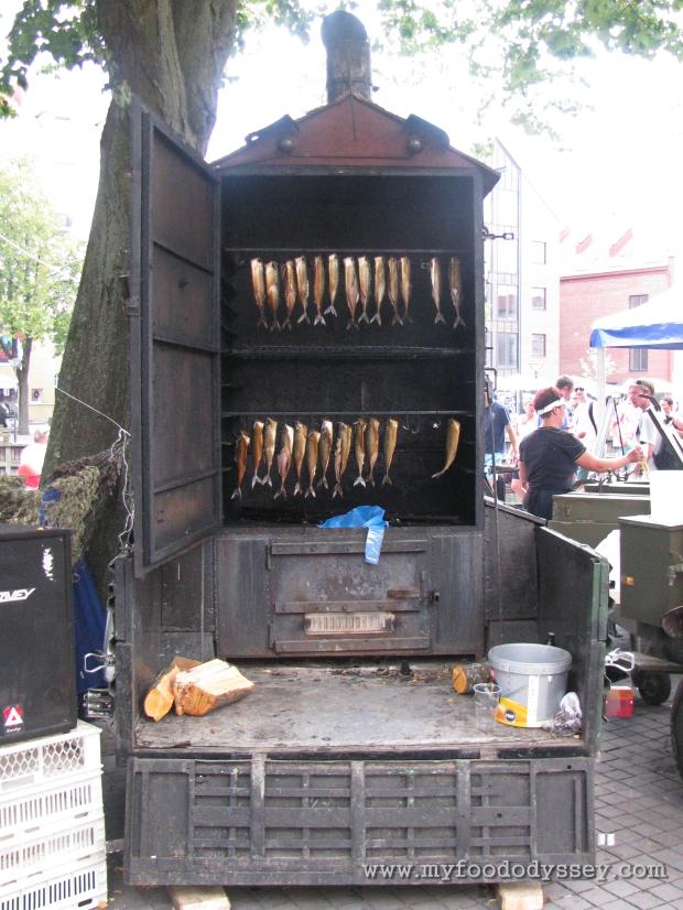 Smoked Herring, Klaipėda Sea Festival | www.myfoododyssey.com