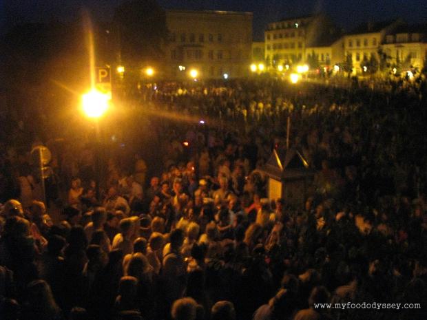 Large Crowds, Klaipėda Sea Festival | www.myfoododyssey.com