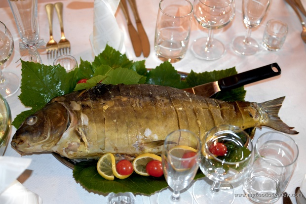 Lithuanian Wedding Carp | www.myfoododyssey.com