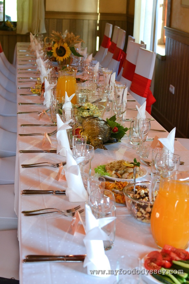 Lithuanian Wedding Table | www.myfoododyssey.com