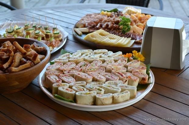 Lithuanian Wedding Canapés | www.myfoododyssey.com