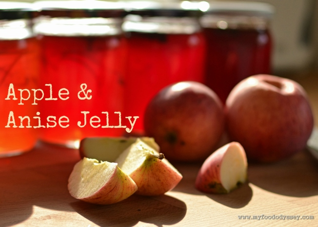 Apple & Anise Jelly | www.myfoododyssey.com