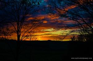 Sunset, Denmark | www.myfoododyssey.com