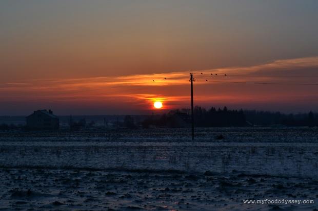 Sunset, Adakavas | www.myfoododyssey.com