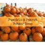 Pumpkin & Peanut Butter Soup | www.myfoododyssey.com