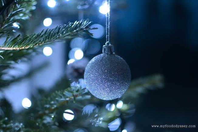 Sparkling Christmas Tree | www.myfoododyssey.com