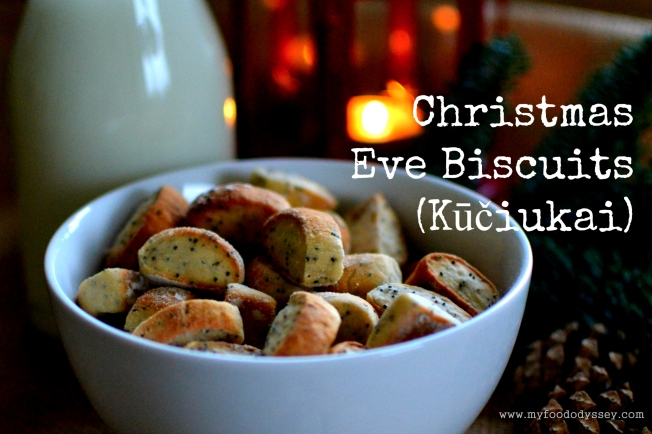 Lithuanian Christmas Eve Biscuits / Kūčiukai | www.myfoododyssey.com