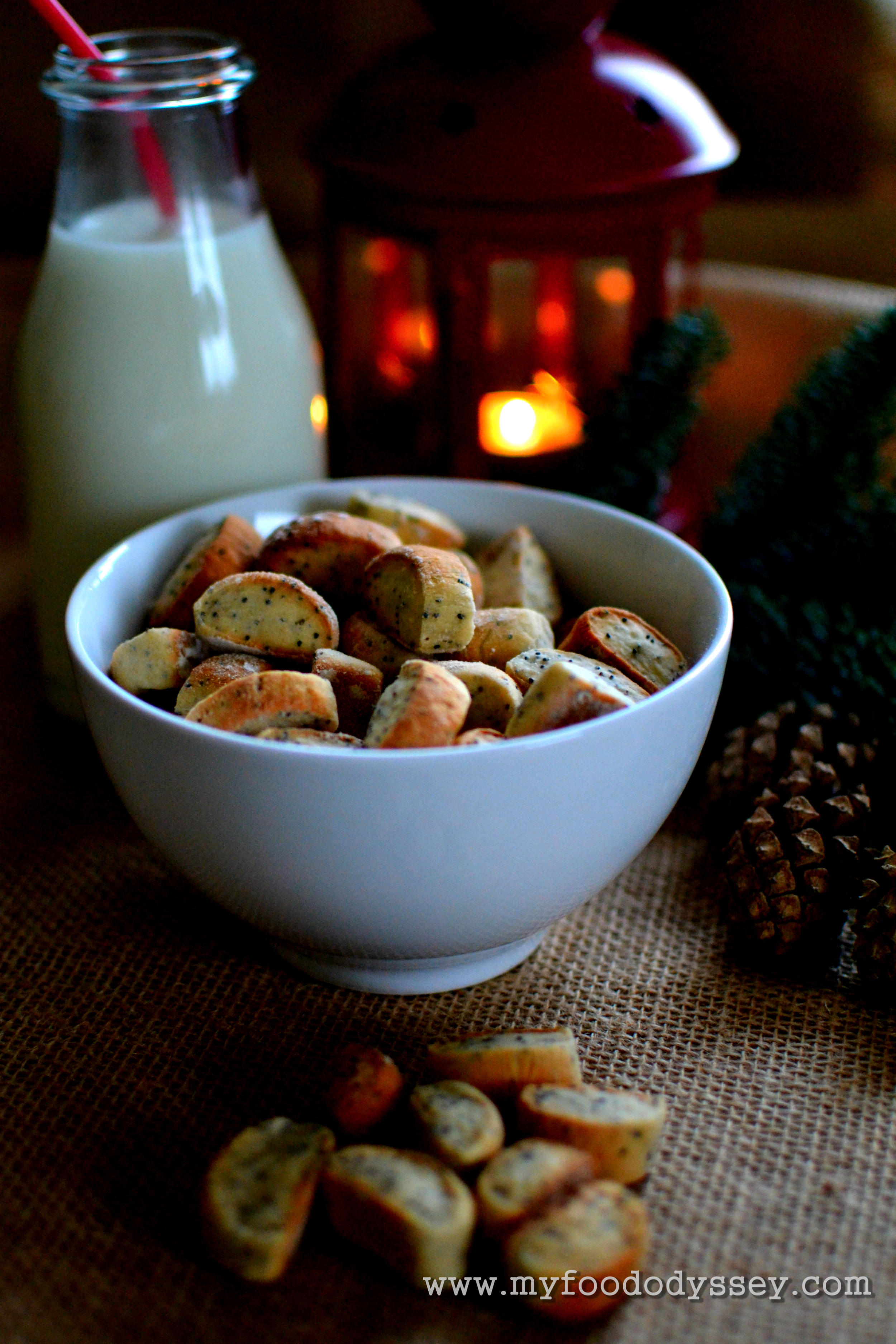 Lithuanian christmas eve biscuits kiukai recipe my food odyssey lithuanian christmas eve biscuits kiukai myfoododyssey forumfinder Image collections
