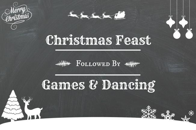 Christmas Chalkboard | www.myfoododyssey.com