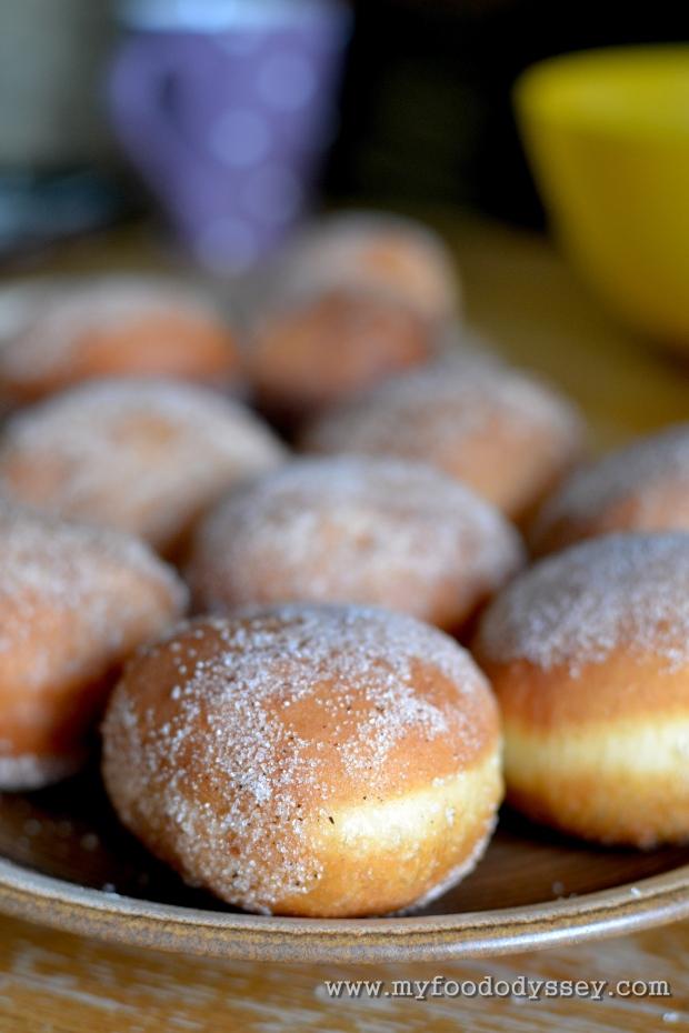 Homemade Doughnuts | www.myfoododyssey.com