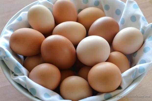 Fresh Eggs | www.myfoododyssey.com