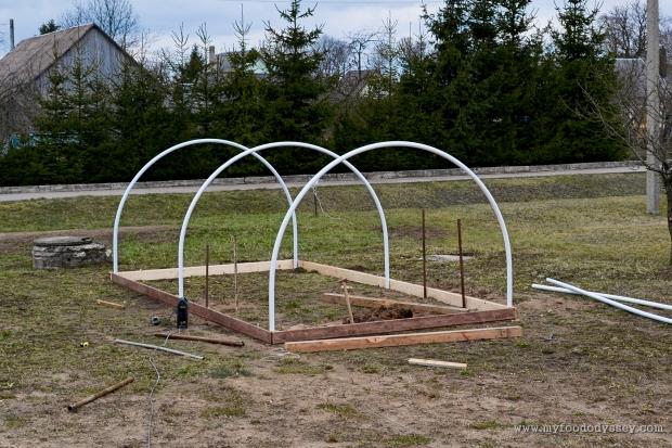 Building a Polytunnel | www.myfoododyssey.com
