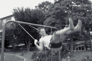Man on swing | www.myfoododyssey.com