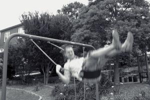 Man on swing | www.myfoododyssey.com
