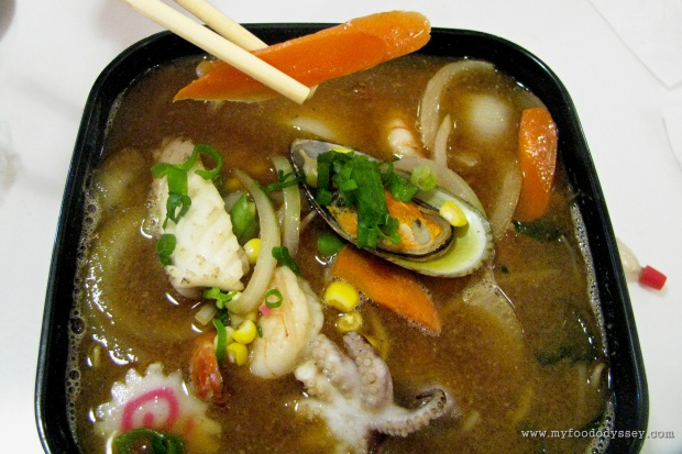 Seafood Udon Soup | www.myfoododyssey.com
