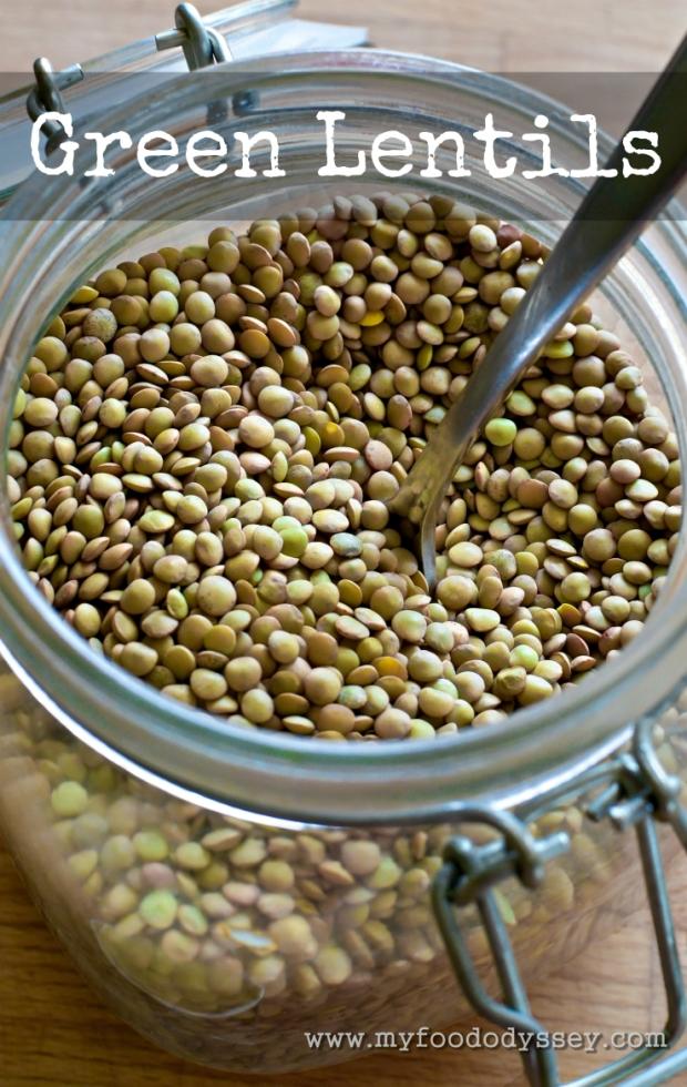 Green Lentils | www.myfoododyssey.com