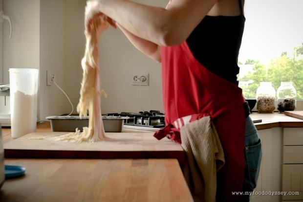 Making Bread | www.myfoododyssey.com