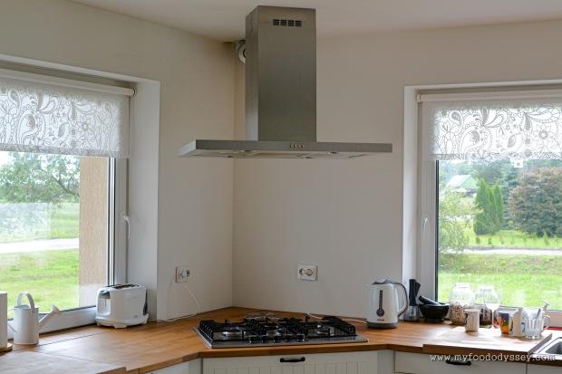 Kitchen Hob & Extractor | www.myfoododyssey.com