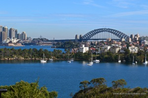 View from Taronga Zoo, Sydney| www.myfoododyssey.com