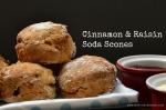 Cinnamon & Raisin Soda Scones | www.myfoododyssey.com