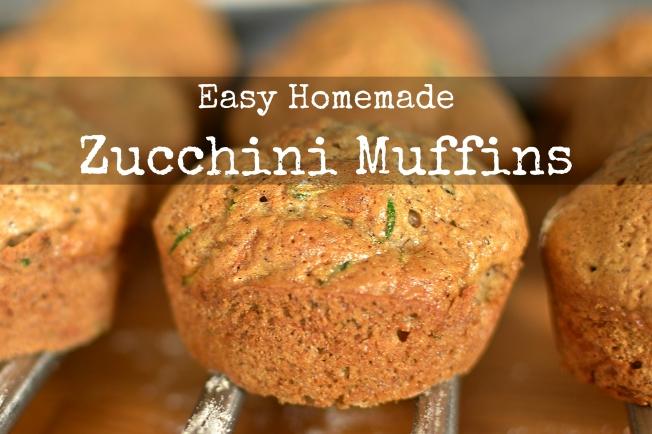 Zucchini / Courgette Muffins | www.myfoododyssey.com