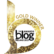 Blog Awards 2015 Winners Gold Button | www.myfoododyssey.com
