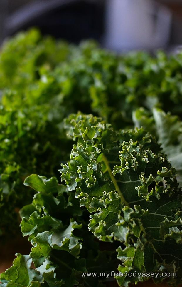 Kale Leaves | www.myfoododyssey.com