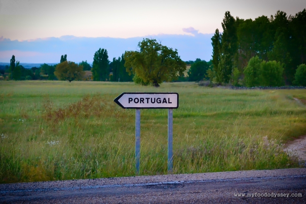 Road Sign, Northern Spain | www.myfoododyssey.com