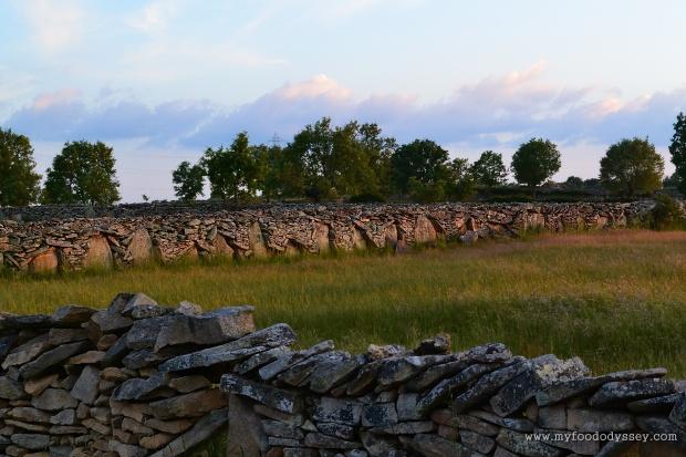Stone Walls, Northern Spain | www.myfoododyssey.com