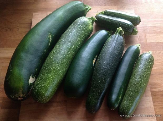 Zucchini / Courgette | www.myfoododyssey.com
