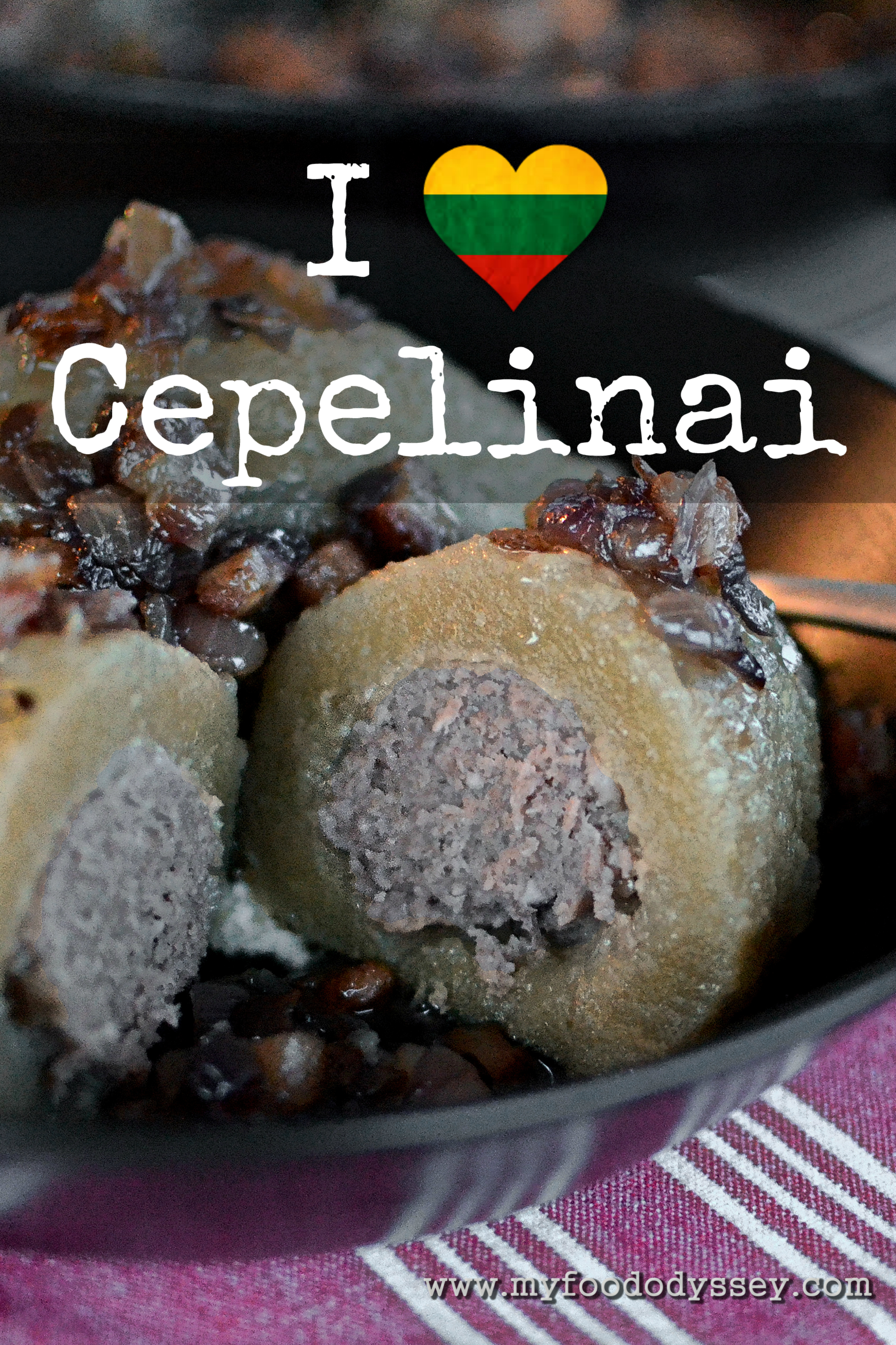 Cepelinai for beginners recipe my food odyssey lithuanian cepelinai potato dumplings myfoododyssey forumfinder Gallery