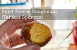 Curd Cheese Doughnuts | Varškės Spurgos [Recipe]