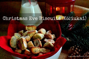 Lithuanian Christmas Eve Biscuits / Kūčiukai | www.myfoododyssey.com